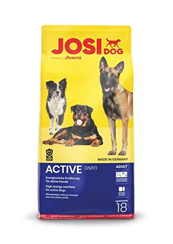 Josera Hundefutter JosiDog Active, 1er Pack (1 x 18 kg)