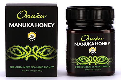 Onuku Miel de Manuka Premium de Nueva Zelanda UMF 20+ 250g