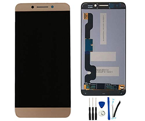 SOMEFUN LCD Display Digitizer Touch Screen Glass Panel Assembly Replacement for Letv LeEco Le Pro 3 Dual AI X650 X653 X651 X656 X658 X659 5.5inch Gold