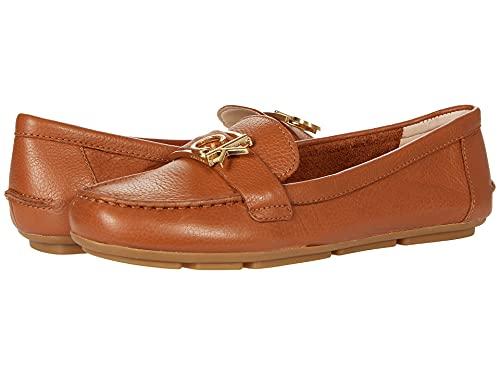 Calvin Klein Women's LANAY Loafer Flat, Luggage, 10