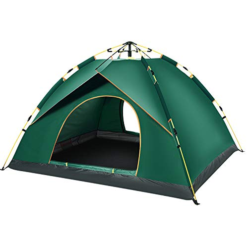 Automatic outdoor tent 3-4 people thickening rain 2 Single Double camping tent camping