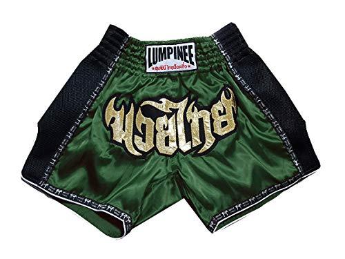 Lumpinee Muay Thai Kick Boxeo Retro Pantalon Shorts : LUMRTO