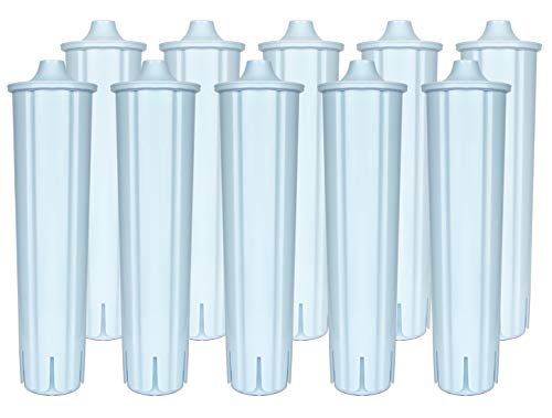 10-pack Wasserfilter kompatibel mit Jura Claris Blue Filterpatrone GIGA Filter Kaffeevollautomat ENA 3 5 7 9 J9.2 J9.3 J9.4 J80 J85 Z7 Z9 One Touch, IMPRESSA A5 A9 C50 C55 F7 F8 MICRO 1 5 8