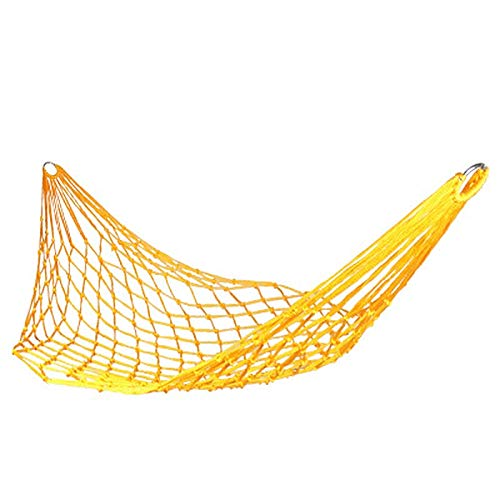 hammock Hammock 9 Strands Mesh Nylon Rope Outdoor Camping Portable Simple Casual Hammock Swing For Indoor Sleeping Bed
