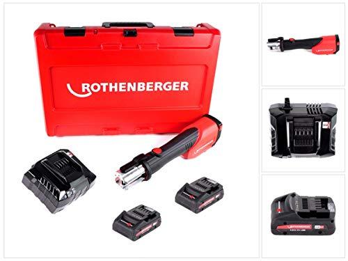 Rothenberger ROMAX 4000 Akku Pressmaschine 18V + 2x Akku 4,0Ah + Ladegerät + Koffer