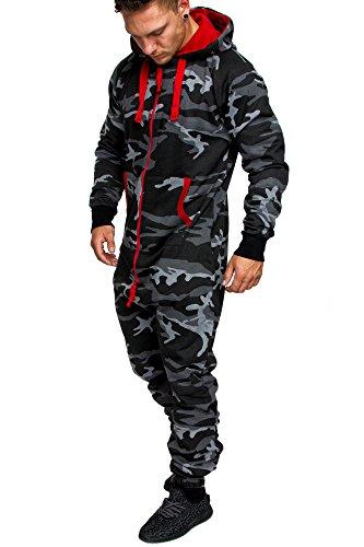 Amaci&Sons Camouflage Schwarz L