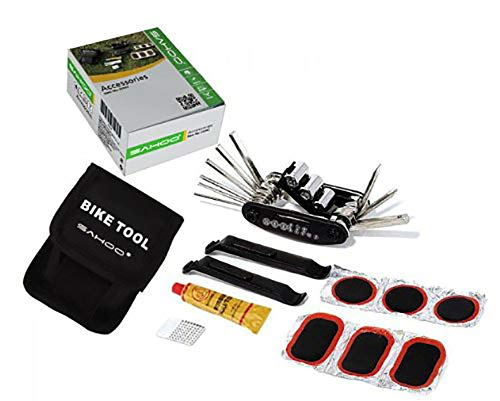 SAHOO ロスホイール 【並行輸入品】 サイクル 携帯用パンク修理工具4点セット
