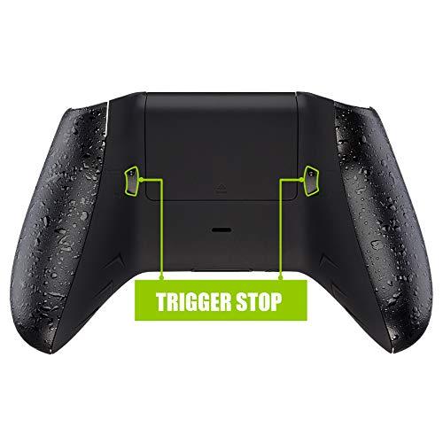 eXtremeRate FlashShot Trigger Stop Hülle Case Kit für Xbox One S/X Controller, neu gestaltetes Gehäuse/strukturierte Griffe/doppelte Trigger-Sperren für den Xbox One S/X Controller Modell 1708