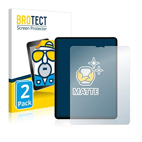 BROTECT Entspiegelungs-Schutzfolie kompatibel mit Apple iPad Pro WiFi Cellular 12.9