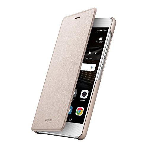 HUAWEI 51991528 Flip Schutzhülle für Huawei P9 Lite Gold