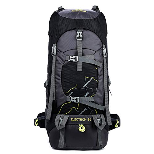 Freiesoldaten Camping Backpack 60L Large Rucksack Waterproof Breathable Mountaineering Hiking...