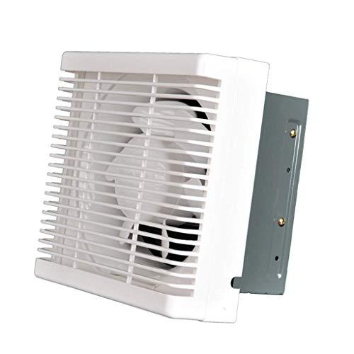 Ventilador de extractor de baño, extractor de cocina, ventilador de 8 pulgadas, bidireccional, ventilación, ventilación y ventilación.