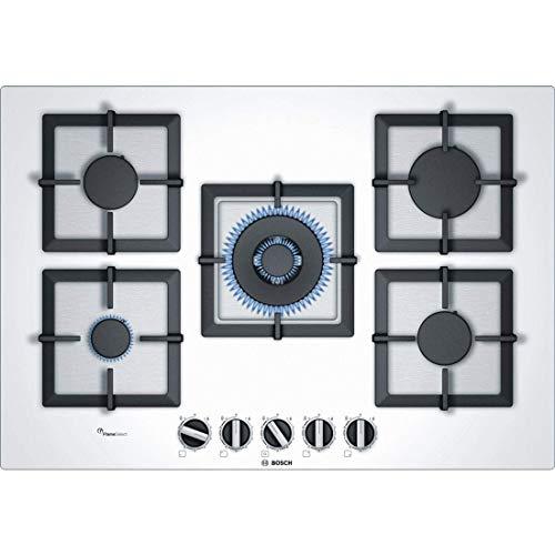 Bosch Serie 6 PPQ7A2B20 piano cottura Bianco Incasso Gas