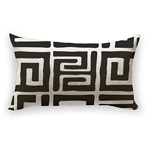 Hustor Kuba - Funda de almohada para sofá, cama, coche, 30,5 x 50,8 cm
