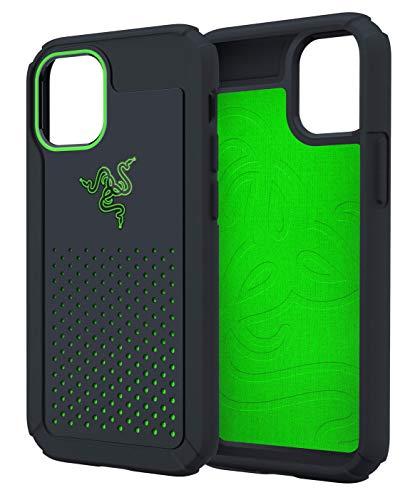 Razer iPhone 12 Pro Max 冷却 ケース 高い排熱性 耐衝撃 抗菌 Arctech Pro Black 6.7インチ 【日本正規代理店保証品】 RC21-0145PB20-R3M1