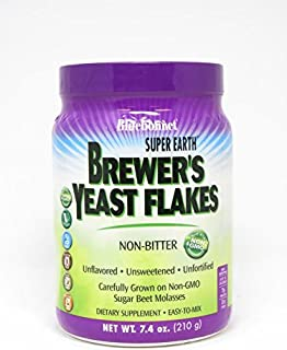 Bluebonnet Nutrition Super Earth Brewer's Yeast Flakes, 7.4 Ounce