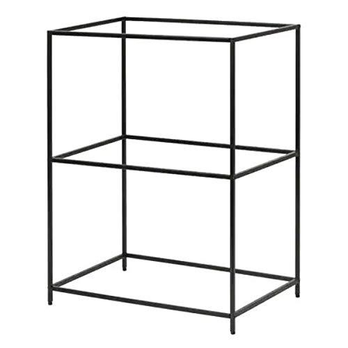 IKEA SAMMANHANG Tabletthalter in schwarz; (28x20x39cm)