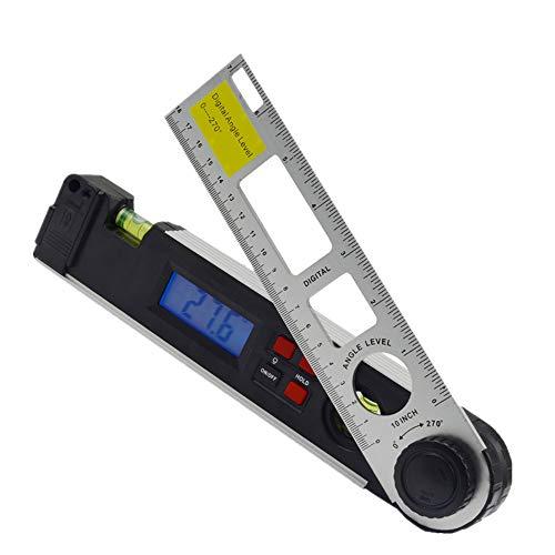 Osairous Misuratore angolare 0-270 °, Livello laser con display digitale, Livello con retroilluminazione a LED, Goniometro digitale