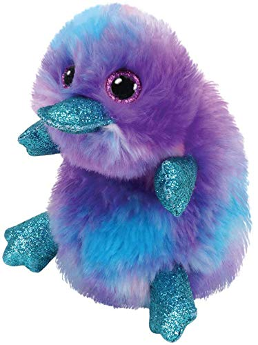 TY 36275 Beanie Boos 15 cm Plüschtier, Lila,blau,türkis