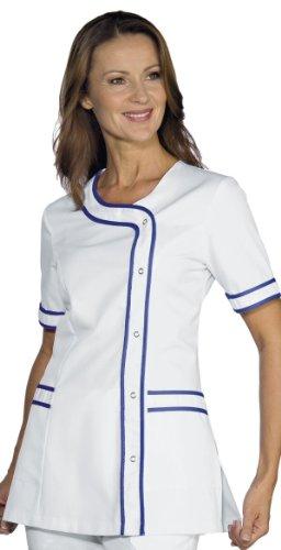 Robinson Robinson Damen Kasack Brasilia weiß+Royalblau Größe L