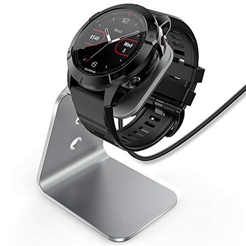 TUSITA Charger Stand Dock for Garmin Fenix 6 6S 6X Pro Sapphire,Fenix 5 5S 5X Plus,Forerunner 935 945 45 45S 245,Approach S10 S40 S60 X10,Quatix 5 6 Sapphire,Vivoactive 3 4 4S,Vivomove 3 3S