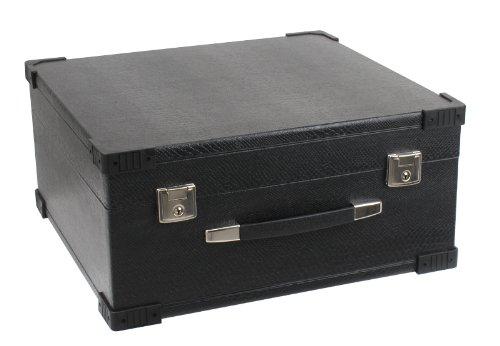 Alpenklang 22934 - Estuche acordeón 72 bajos, color negro