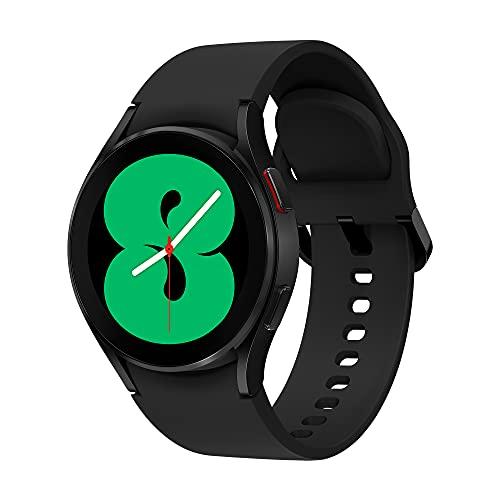 Samsung Galaxy Watch4 - Smartwatch, Control de Salud, Seguimiento Deportivo, Batería de Larga Duración, 40 mm, Bluetooth, Color Negro (Version ES)