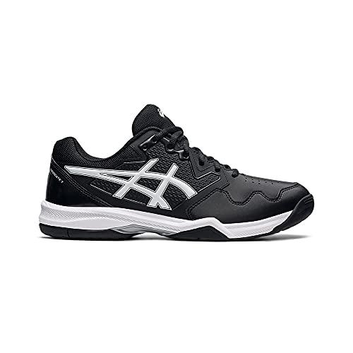 Asics Gel-Dedicate 7, Zapatos de Tenis Hombre, Black/White, 44 EU