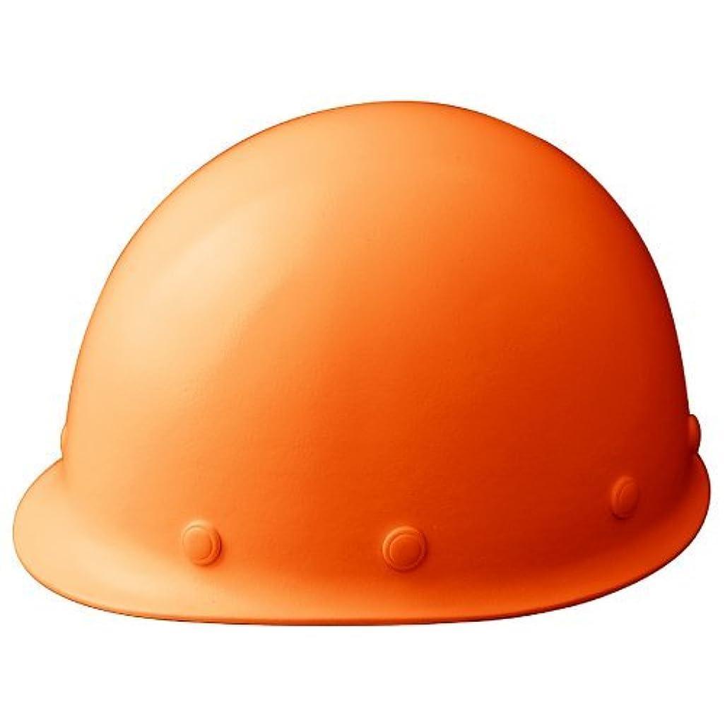 先見の明遺伝的襲撃ミドリ安全 軽量ヘルメット 作業用 FRP製 SCLM RA KP付 オレンジ