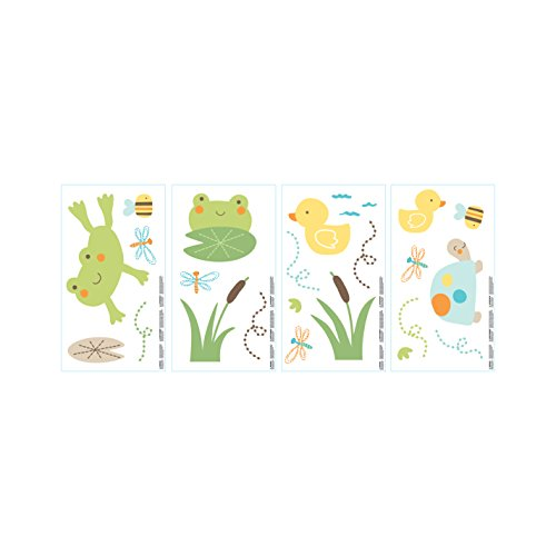 carters pond decal nursery theme