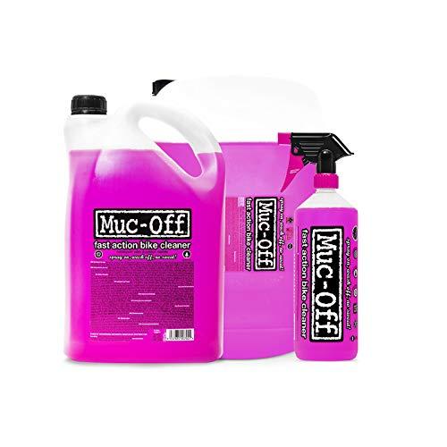Muc-Off 904-CTJ Bike Cleaner-Pink, 1 Litre, Black, 1L