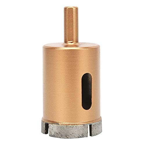 Diamond Drill Bits, 40-60mm Triangular Shank Hollow Core Hole Saws for Drilling on Tile,Concrete, Brick, Glass, Marble and Ceramic(40mm)