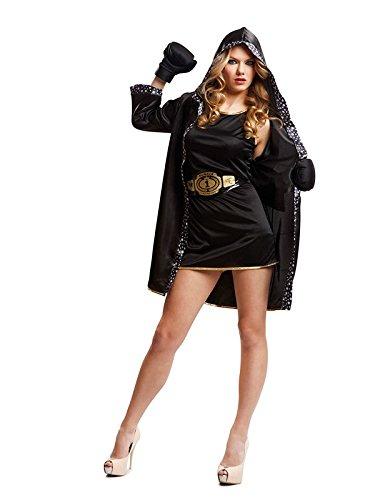 DISBACANAL Disfraz de boxeadora para Mujer - Único, M
