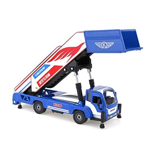 Modelo de automóvil Modelo de juguete para niños Modelo de aleación de automóviles Ingeniería Vehículo de juguete Aeropuerto Aeropuerto Simulación COLECCIÓN COLECCIÓN DE Decoración Regalo para niños
