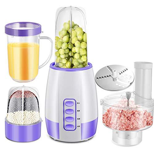 Smoothie Maker, Upgrade Blender & Ice Crusher - Auto-Clean-functie 200W stille motor voor groenten en fruit Fruit & Vegetable Juicers