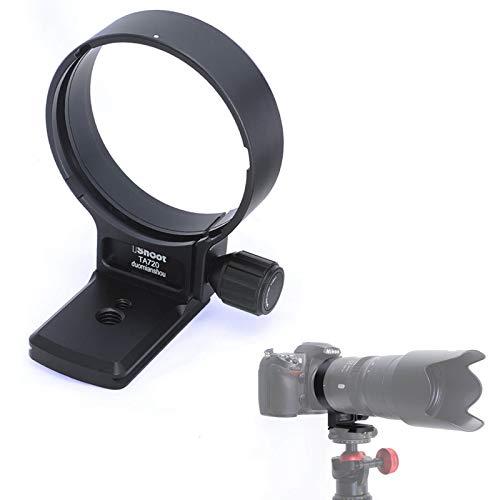 Anillo de Soporte de trípode para Objetivo Tamron SP 70-200 mm f/2.8 Di VC USD G2 (Montura Nikon F y Canon EF), Placa de liberación rápida de 65 mm para Cabeza de trípode Arca-Swiss