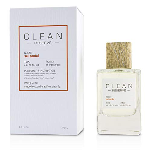 CLEAN Sel Santal Eau de Parfum, 100 milliliters
