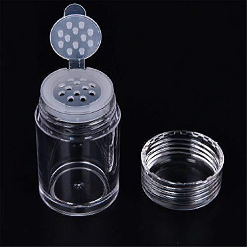Barley33 10 ml vide cosmétique tamis poudre en vrac pots Eyeshow poudre boîte maquillage bouteilles rechargeables bricolage