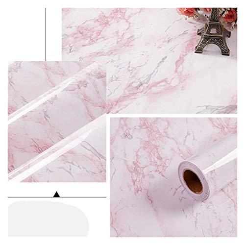 WHYBH HYCSP Selbstklebende Tapete Marmor Aufkleber Wasserdicht Hitzebeständige Küchenarbeitsplatten Tischmöbel Schrank-Wand-Papier (Color : DLS 04, Size : 5m x 40cm)