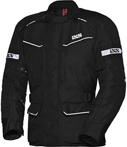 IXS Tour Evans-ST - Chaqueta de moto para mujer, color negro, talla XL