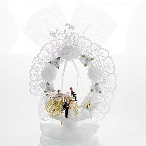 --NEU-- Brautpaar mit goldene Kutsche --NEU--