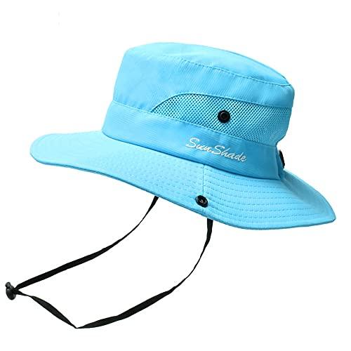 Sun Hats for Women,Beach Hats for Women, UV Protection,Safari Hiking Wide,Fishing