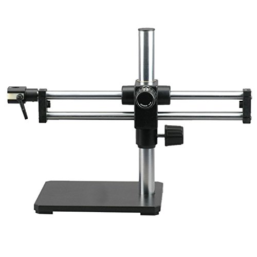 AmScope BBB Ball-bearing Dual Arm Boom Stand for Stereo Microscopes