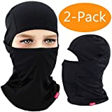 Balaclava for men and women, 2 units, black color