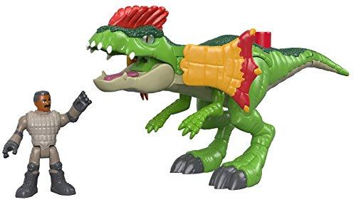 Imaginext Mattel – FMX89 Jurassic World – Dilophosaurus & Spielzeugfigur