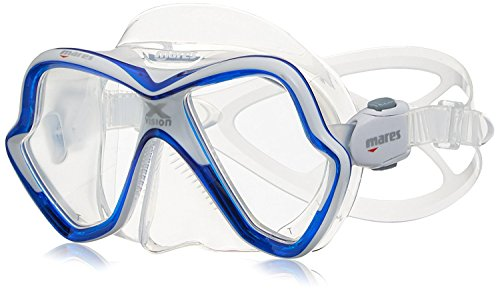 Mares Mask X-Vision Tauchmaske, Blue/White, One Size