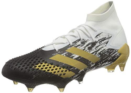 adidas Predator MUTATOR 20.1 SG, Zapatillas de fútbol Hombre, FTWBLA/Dormet/NEGBÁS, 42 2/3 EU