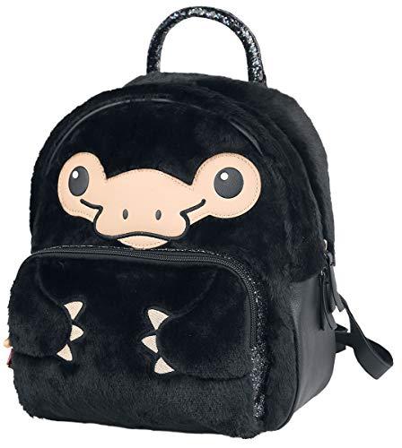 Fantastic Beasts Niffler Furry Backpack Black 35x27x20cm Polyester