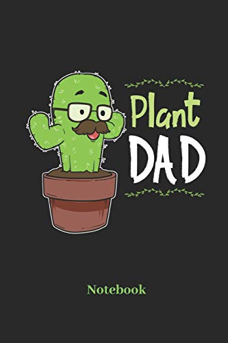 Plant Dad Notebook: Liniertes Notizbuch...