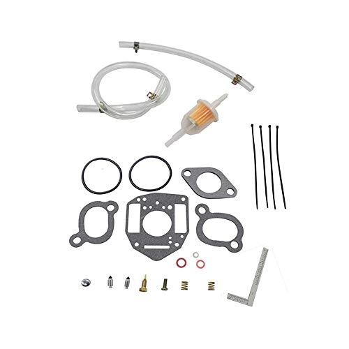 Carburetor Rebuild Kit Replace John Deere ONAN P216 P218 P220 Nikki Carburetor fits most current model Model Nikki Carbs on 2 & 3 cylinder